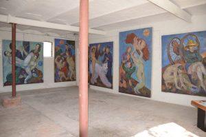 Ausstellung in der Galerie EROSA von Harms Bellin in Mankmuss Prignitz Brandenburg