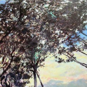 Malerei Thomas Richter In Pinien von Grosseto Marina