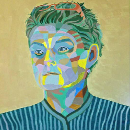 Portrait und Malerei von Gerhild Grolitsch