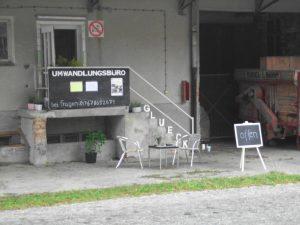 Kunst Tauschaktion von 2011 - 2015 in Brandenburg Landkreis Prignitz Wolfshagen